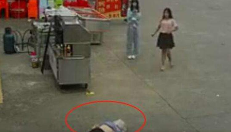 老人被狗绳绊倒摔地后身亡