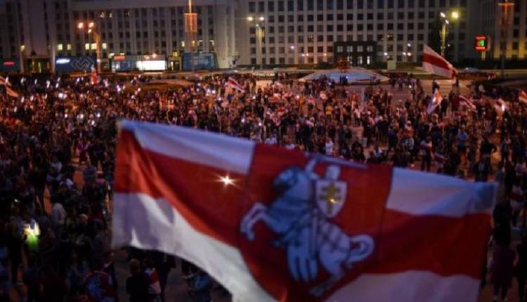 白俄罗斯反政府示威