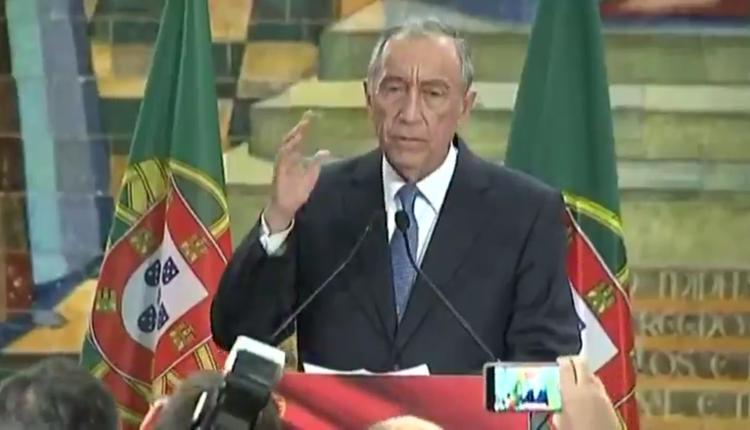 葡萄牙总统德索萨(Marcelo Rebelo de Sousa)