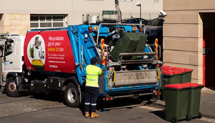 悉尼回收卡车