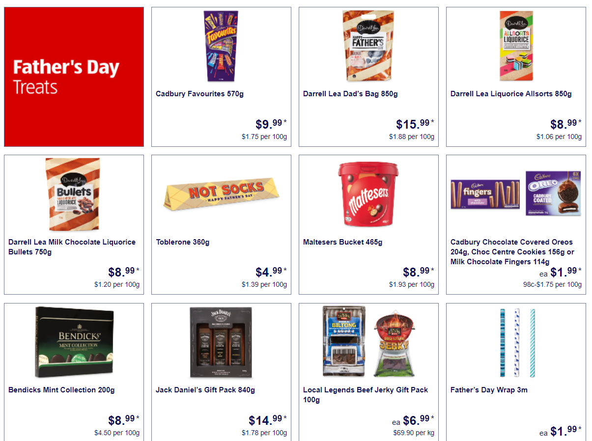 澳洲Aldi超市8月22日起特卖品