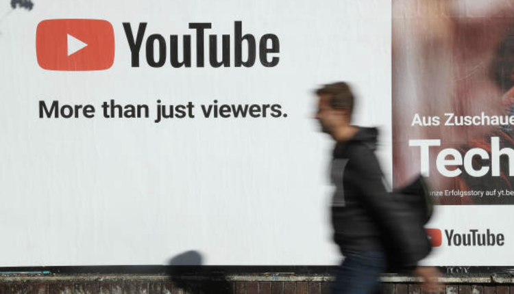 YouTube(图片来源:Sean Gallup/Getty Images)