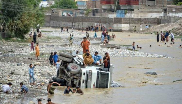 阿富汗洪水泛滥