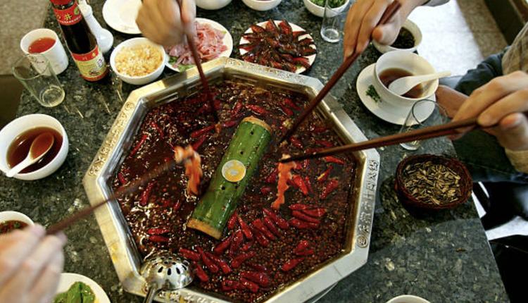 中国餐厅示意图