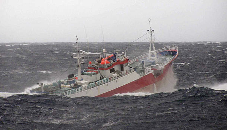中国渔船示意图(图片来源:AFP via Getty Images)