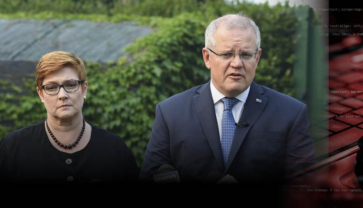 澳总理莫里森和外交部长佩恩