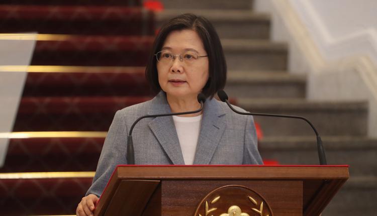 台湾总统蔡英文