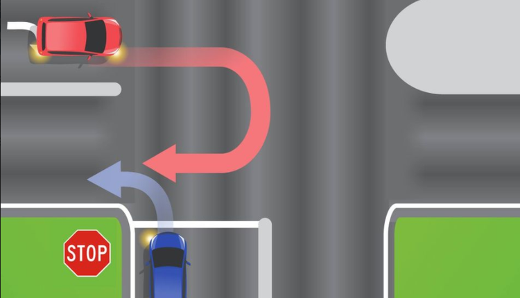 哪辆车应该让路?交通运输部门考网友驾驶常识