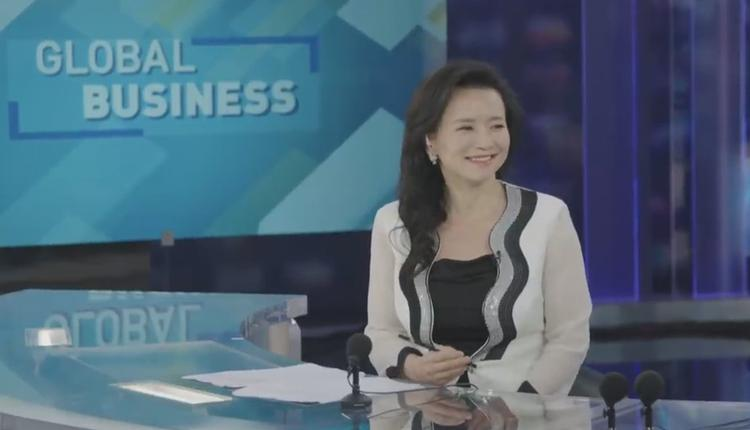 環球電視網澳大利亞籍華裔主持成蕾