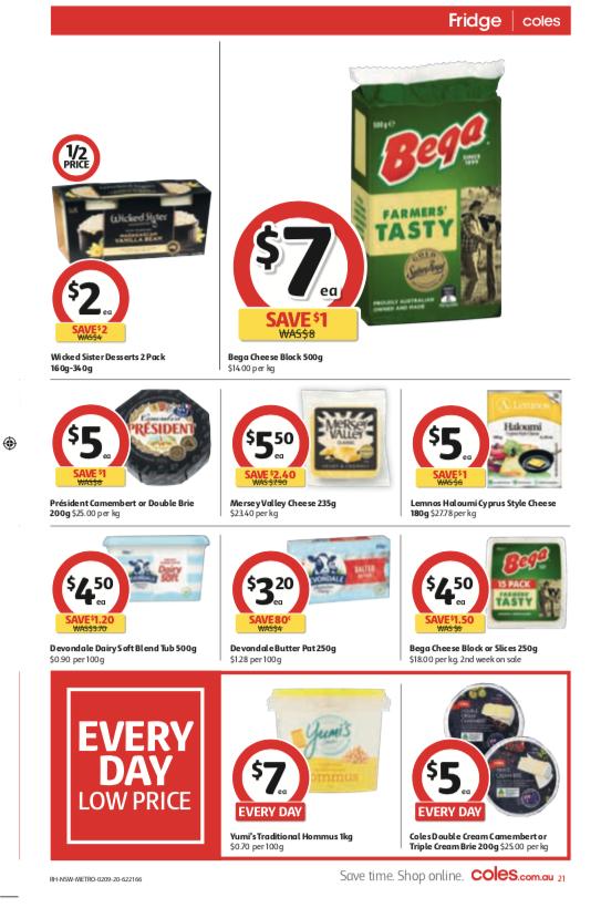 Coles超市本周半价