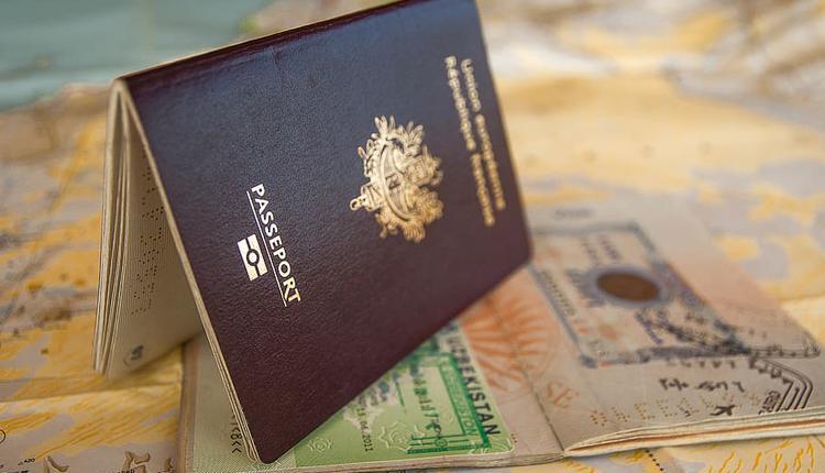 护照, 签证