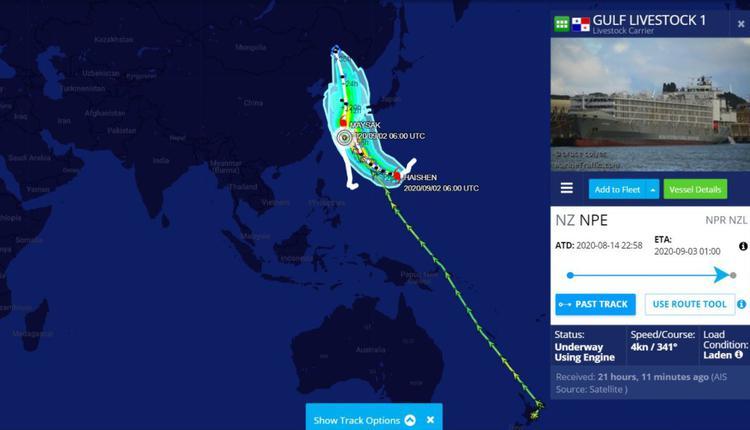 澳洲货船失踪