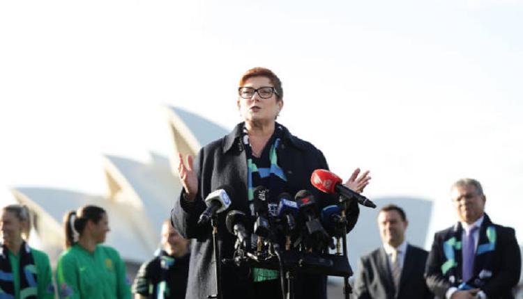 澳洲外长部长Marise Payne