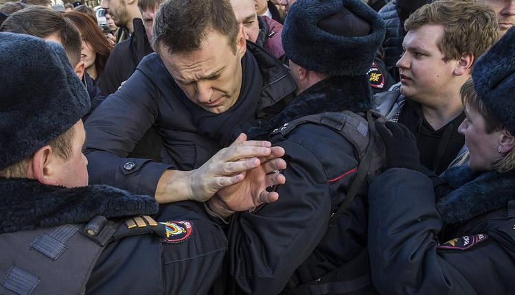 俄罗斯反对派领袖纳瓦尼