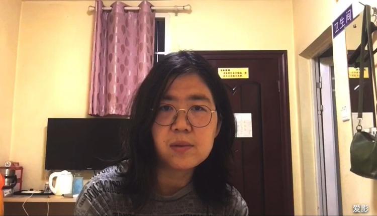 中国公民记者张展
