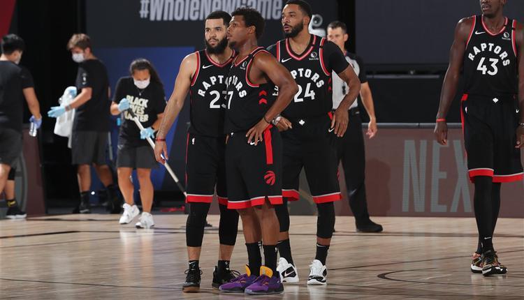 [NBA]暴龙三分发挥力压塞尔提克 系列赛重回同一起点