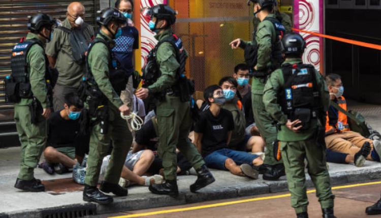 警方在9月6日当天拘捕至少90人
