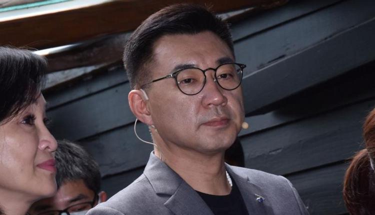 国民党主席江启臣(图片来源:杨约翰/上报)
