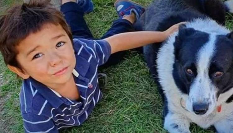 被自己父亲杀害的男孩Koah。