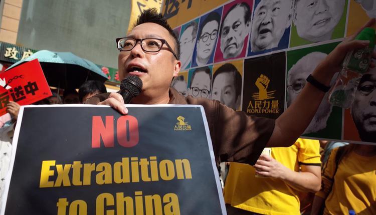 香港泛民组织人民力量副主席谭得志