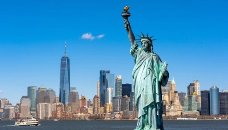 美国的自由女神像(图片来源:Adobe Stock)