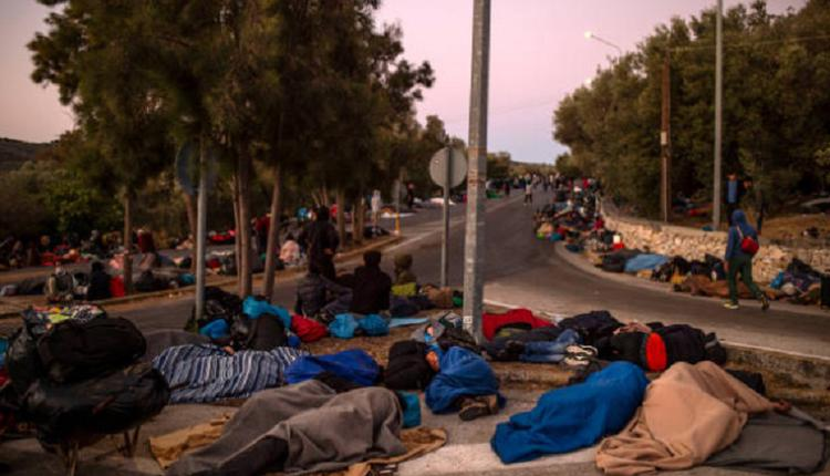 摩利亚(Moria)难民营