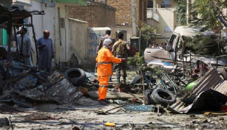 阿富汗首都喀布尔炸弹袭击