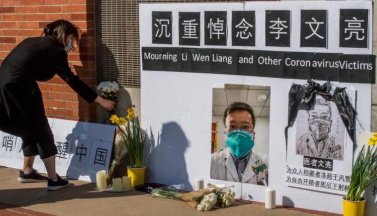 """全国抗击新冠肺炎疫情表彰大会在北京举行,从始至终都没有提到向外界发出疫情预警的""""吹哨人""""李文亮。"""