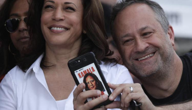 贺锦丽(Kamala Harris)的丈夫