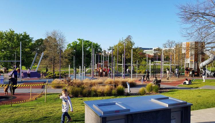 墨尔本户外健身设施与游乐场