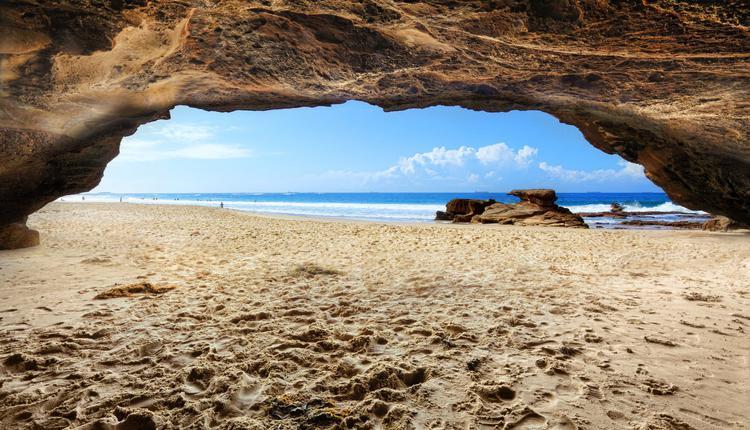 澳大利亚洞穴海滩(Caves Beach)