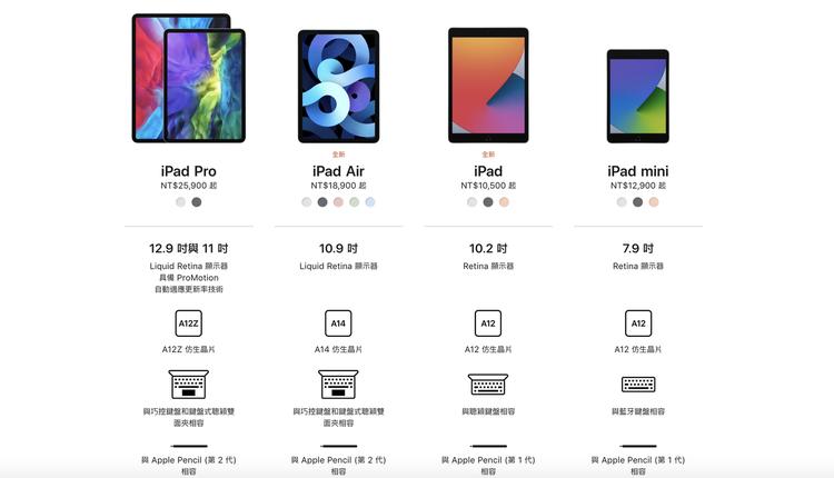 苹果15日发表了两款新iPad