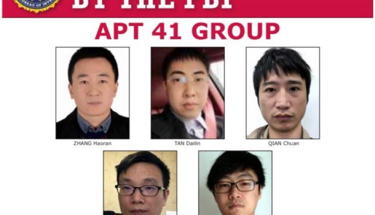 美国司法部起诉5名中国公民对全球百家公司进行入侵
