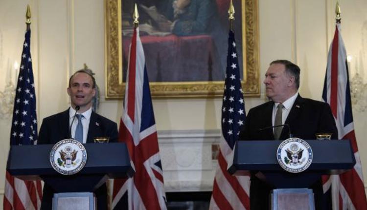 9月16日,英美外长会晤