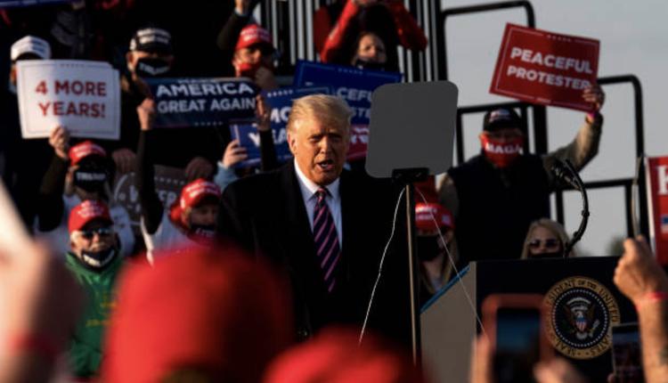 美国总统在威斯康辛州的选举造势活动
