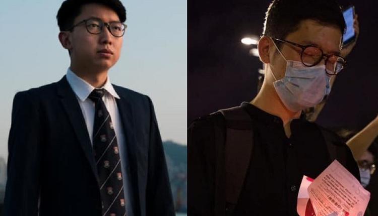 罗冠聪(右)和张昆扬(左)