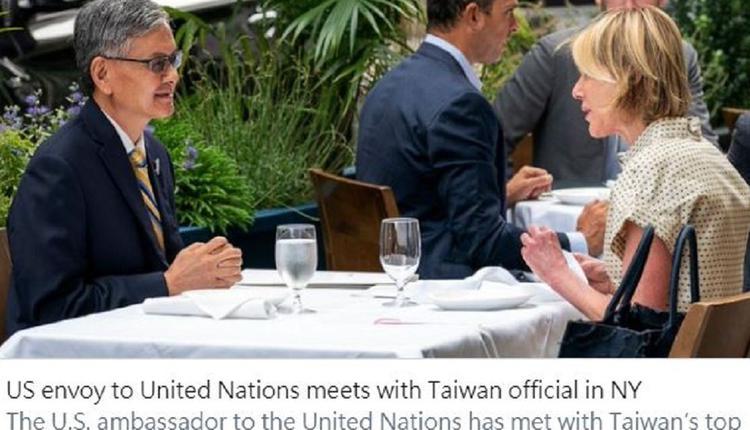 美国驻联合国大使克拉夫特与李光章