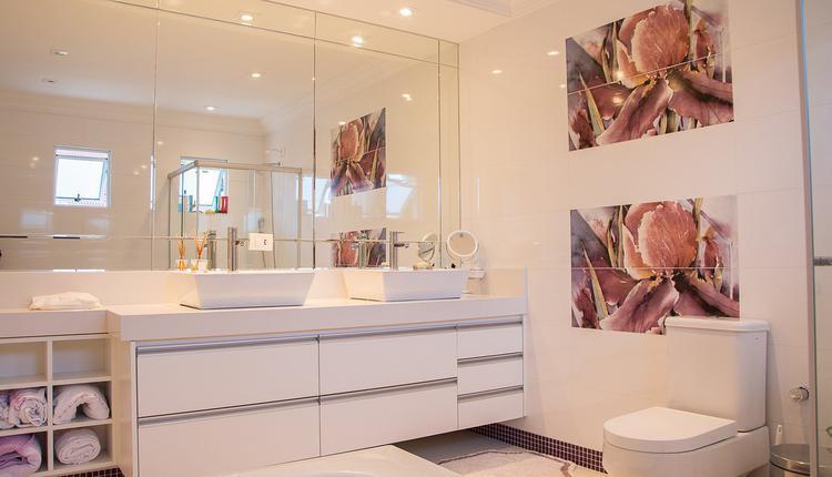 厕所的镜子