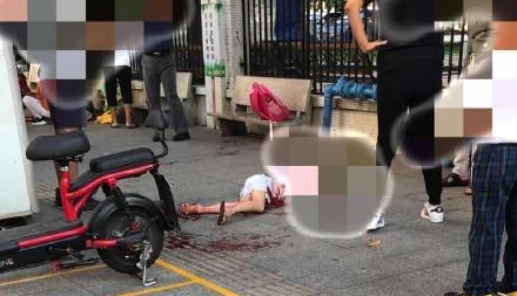 广州番禺区幼儿园附近发生伤人案