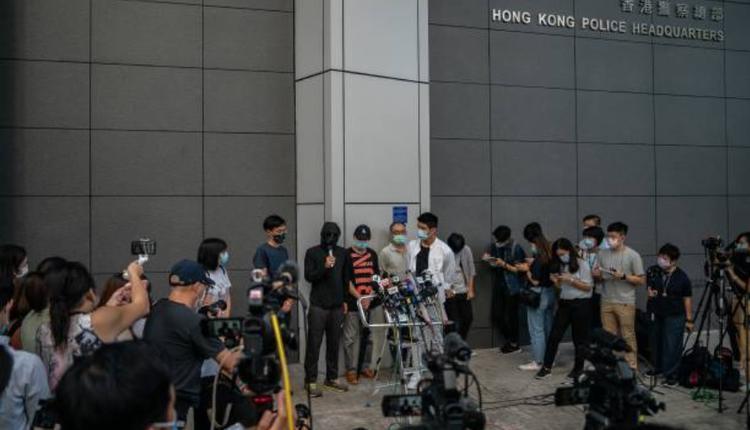 12名港青家属报案要求港府彻查