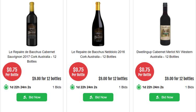 12瓶僅需9澳元