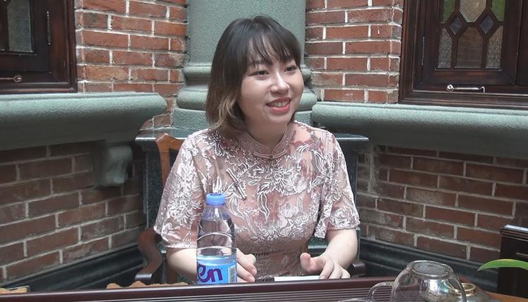 曾来台就读硕士学位的北京女孩张禹竹
