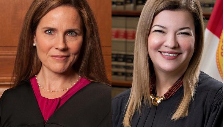先前川普口中的女性大法官人选