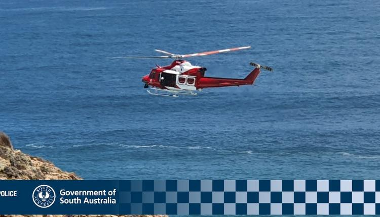 南澳警方搜救船主Tony Higgins
