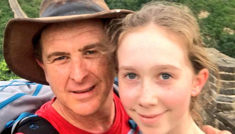 马修(Matthew Carney)与女儿