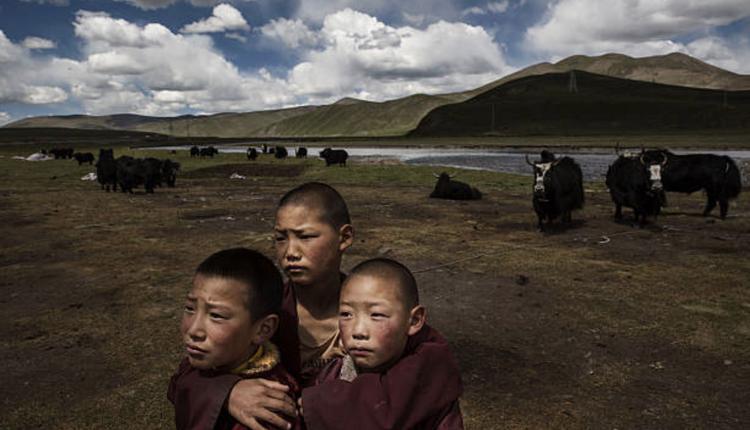 西藏的人民(图片来源:Kevin Frayer/Getty Images)