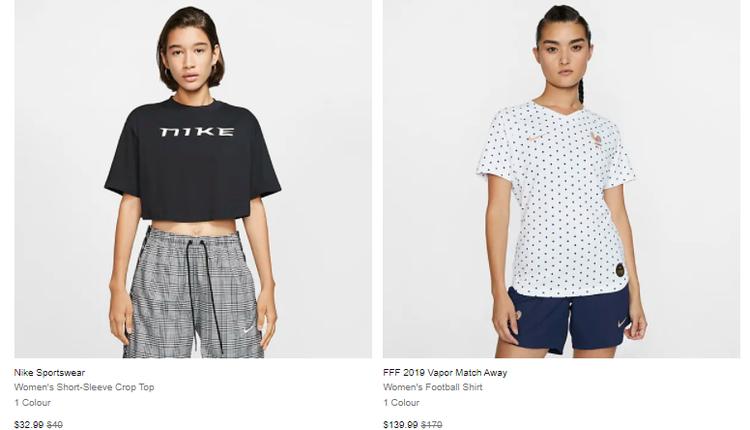Nike经典短款T恤