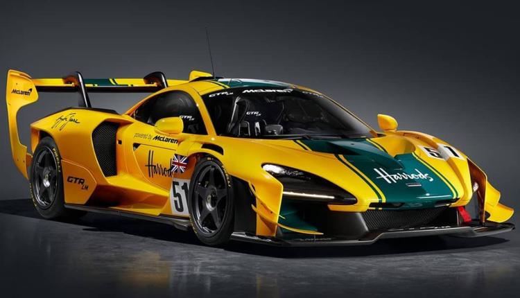 致敬勒芒获胜赛车!迈凯伦推五台客制化纪念版Senna GTR
