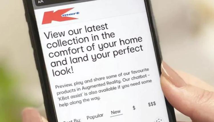 "Kmart推出的最新手机应用程序""KBot"""