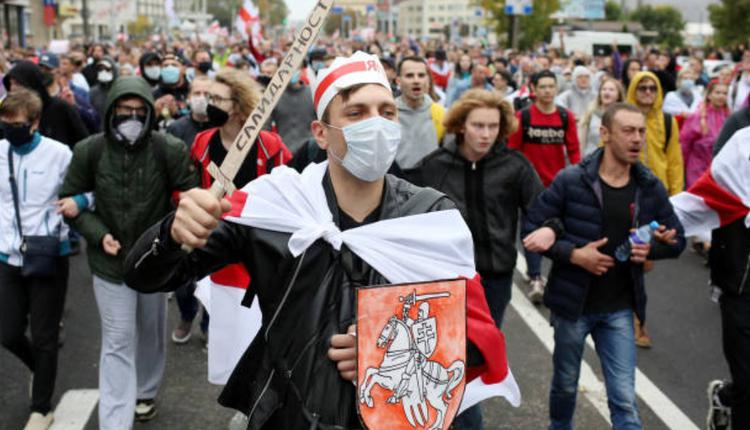白俄罗斯示威活动